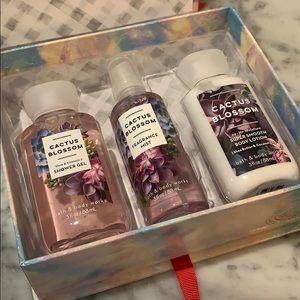 NWT Bath and Body Works, Cactus Blossom Gift Set!
